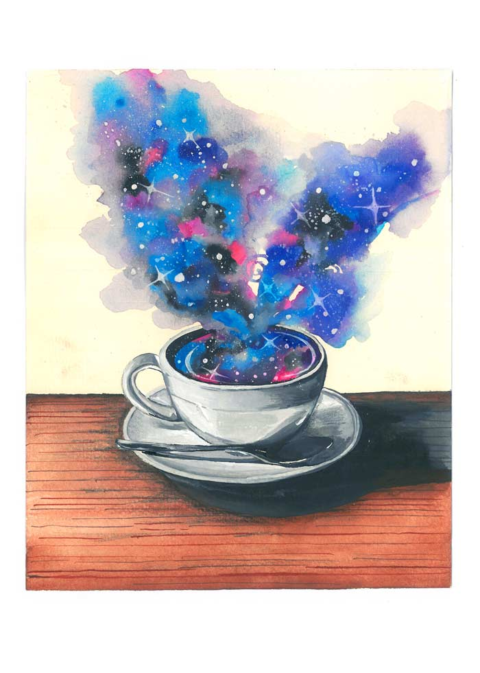 """Featured image for """"Cosmic Coffee"""""""