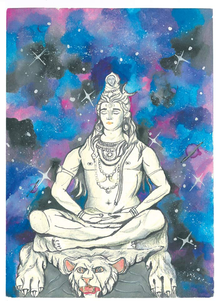 """Featured image for """"Cosmic Shiva"""""""